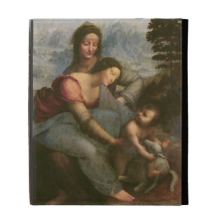 Virgin and Child with St. Anne, c.1510 iPad Folio Case