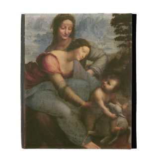 Virgin and Child with St. Anne, c.1510 iPad Folio Cases