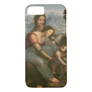 Virgin and Child with St. Anne, c.1510 iPhone 8/7 Case