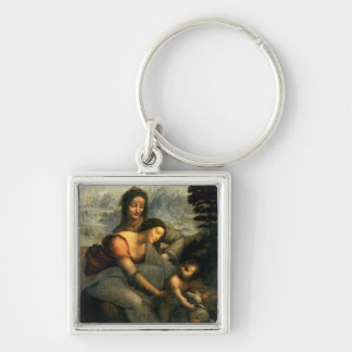 Virgin and Child with St. Anne, c.1510 Keychain