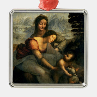 Virgin and Child with St. Anne, c.1510 Metal Ornament