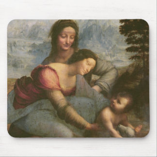 Virgin and Child with St. Anne, c.1510 Mousepads