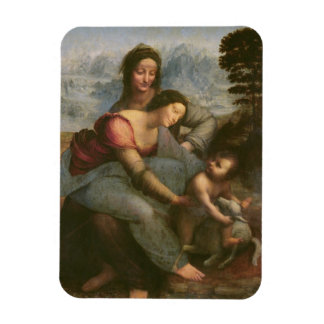 Virgin and Child with St Anne c 1510 Flexible Magnet
