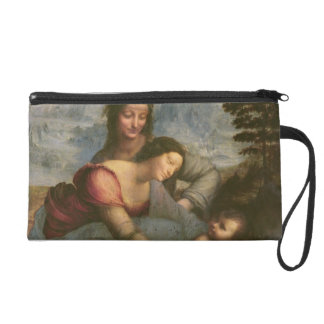 Virgin and Child with St. Anne, c.1510 Wristlet Purse