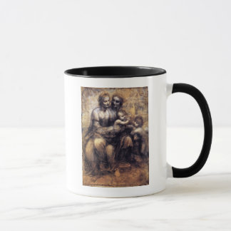 Virgin and Child with St. Anne sketch Mug