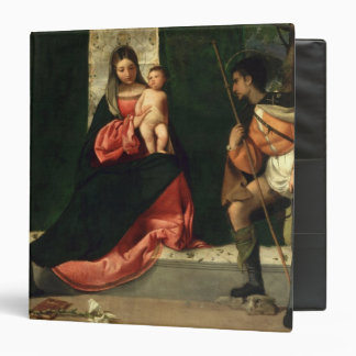 Virgin and Child with St. Anthony of Padua 3 Ring Binder