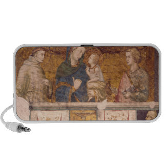 Virgin and Child with St. Francis and St. John iPod Speakers