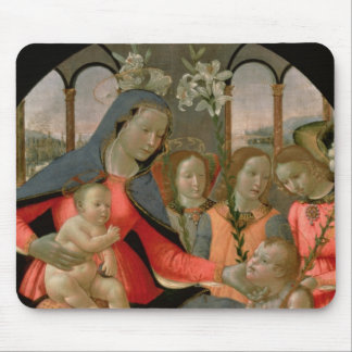 Virgin and Child with St. John the Baptist Mouse Pad