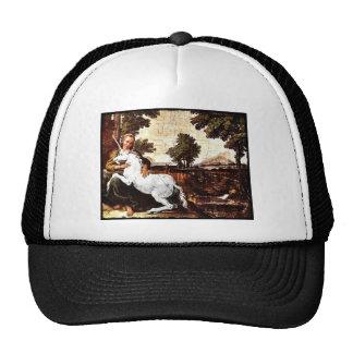 Virgin and the Unicorn Trucker Hat