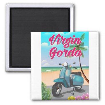 Virgin Gorda British virgin Islands Magnet