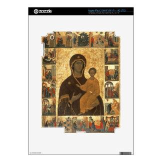 Virgin Hodegetria Icon of Smolensk, c.1450 (temper iPad 3 Decal