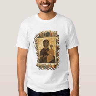 Virgin Hodegetria Icon of Smolensk, c.1450 (temper T-Shirt