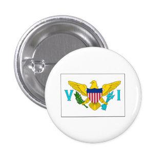 Virgin Island FLAG International Buttons