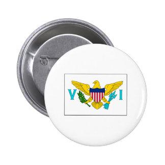 Virgin Island FLAG International Button