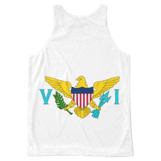 Virgin Island National flag Shirt All-Over Print Tank Top