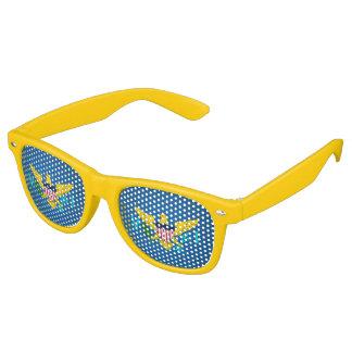 Virgin Islander coat of arms Retro Sunglasses
