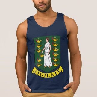Virgin Islander coat of arms Tank Top