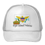 Virgin Islander Princess Hats