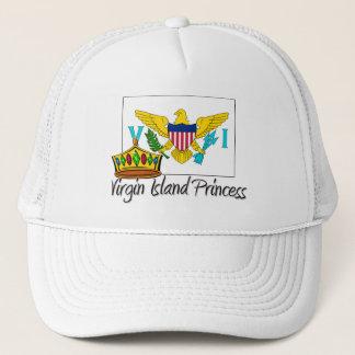 Virgin Islander Princess Trucker Hat