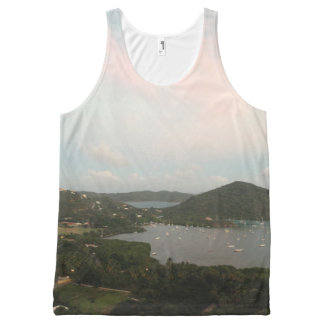 Virgin Islands All-Over-Print Tank Top