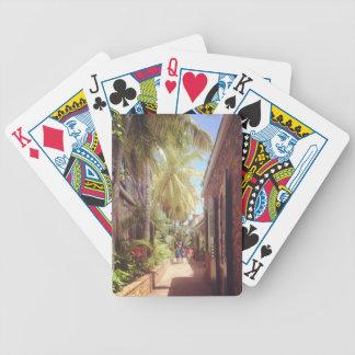 Virgin Islands Alleyway Bicycle Playing Cards