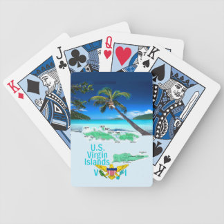 VIRGIN ISLANDS BICYCLE PLAYING CARDS