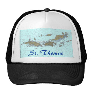 Virgin Islands Chart Hat