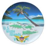 VIRGIN ISLANDS DINNER PLATES