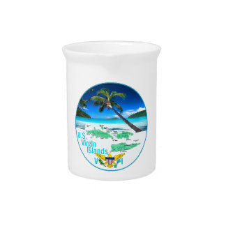 VIRGIN ISLANDS DRINK PITCHER