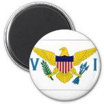 Virgin Islands Flag 2 Inch Round Magnet