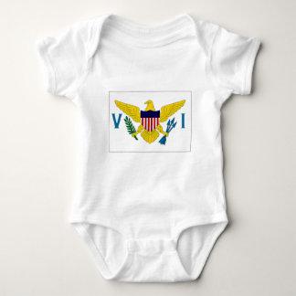 Virgin Islands Flag Baby Bodysuit
