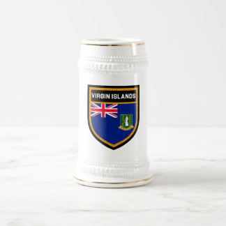 Virgin Islands Flag Beer Stein