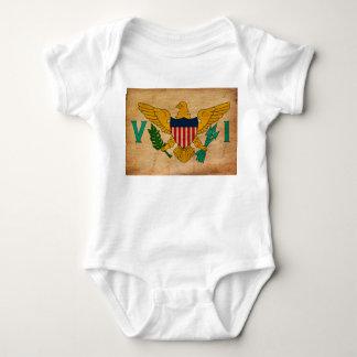 Virgin Islands Flag Infant Creeper