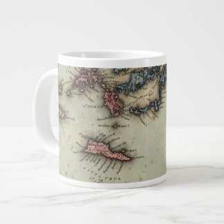 Virgin Islands Large Coffee Mug