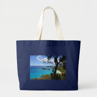 Virgin Islands Large Tote Bag