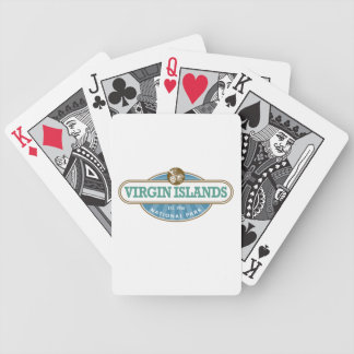 Virgin Islands National Park Bicycle Playing Cards