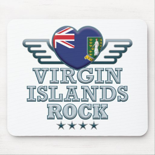 Virgin Islands Rock v2 Mousemat