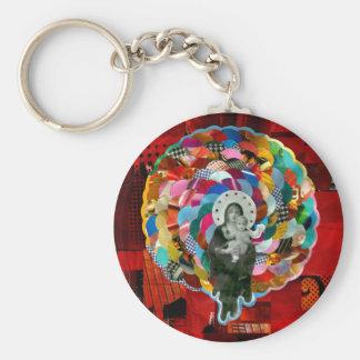 Virgin Maria and the boy Jesus Keychain