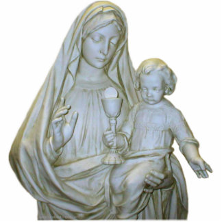 Virgin Mary 1 Photo Sculpture