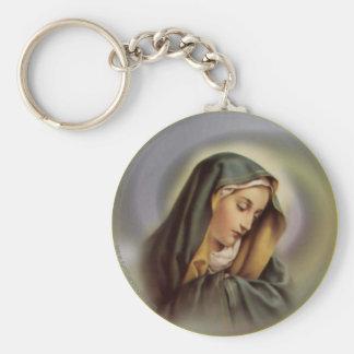 Virgin Mary 2 Keychain