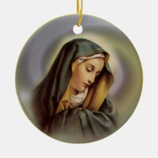 Virgin Mary 2 Ornament