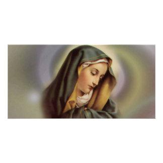 Virgin Mary 2 Photo Card