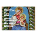 Virgin Mary and Baby Jesus Large Business Cards (Pack Of 100)