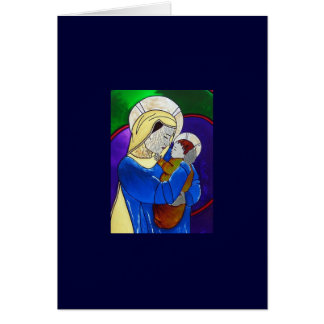 Virgin Mary and Child Greeting Cards