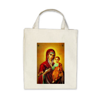 Virgin Mary and Jesus Bag
