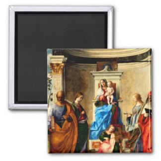 Virgin Mary & Baby Jesus Magnet