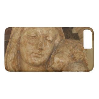 Virgin Mary & Baby Jesus Statue iPhone 7 Plus Case
