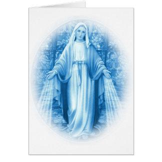 Virgin Mary Card