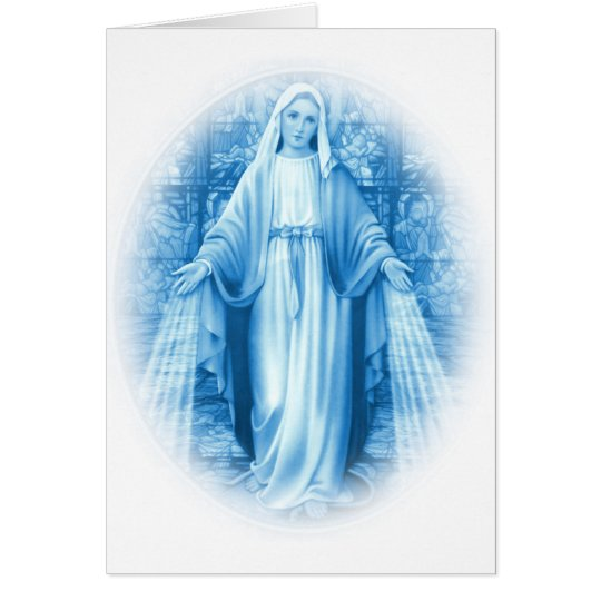 Virgin Mary Card