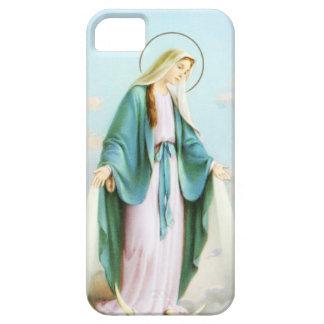 Virgin Mary Crescent Moon iPhone 5 Case